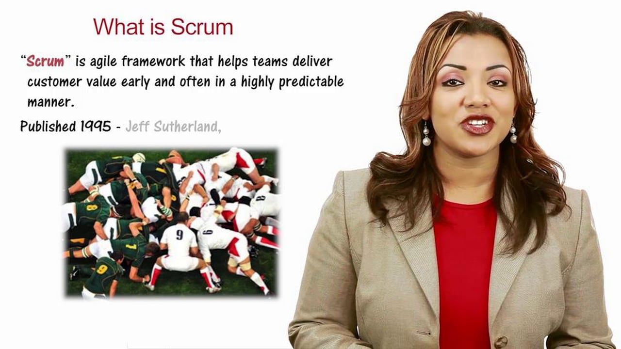 Intro to Scrum Videos course image